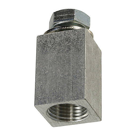 1/2 inch Pipe to 1/2 inch Bolt Adapter